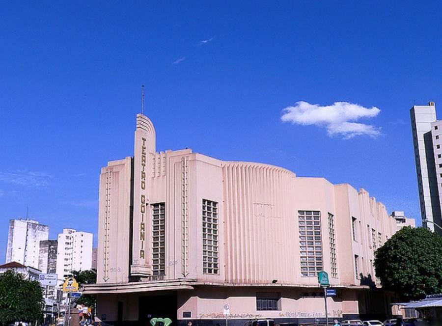 Teatro Goiânia, construido en la década de los cuarenta