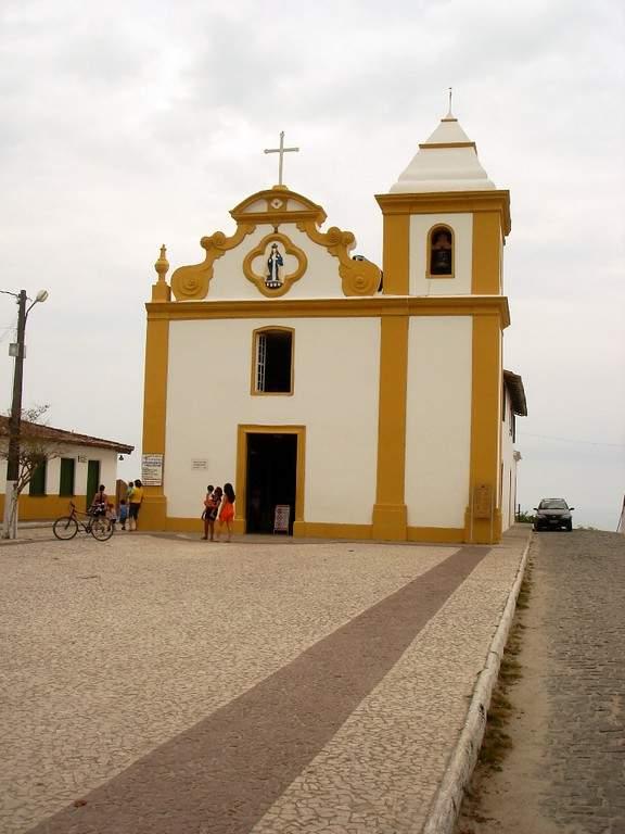 Iglesia de Nuestra Señora del Socorro en Arraial d'Ajuda