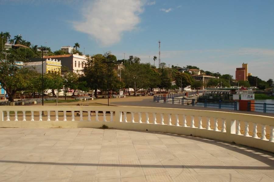 Conoce el puerto de Corumbá