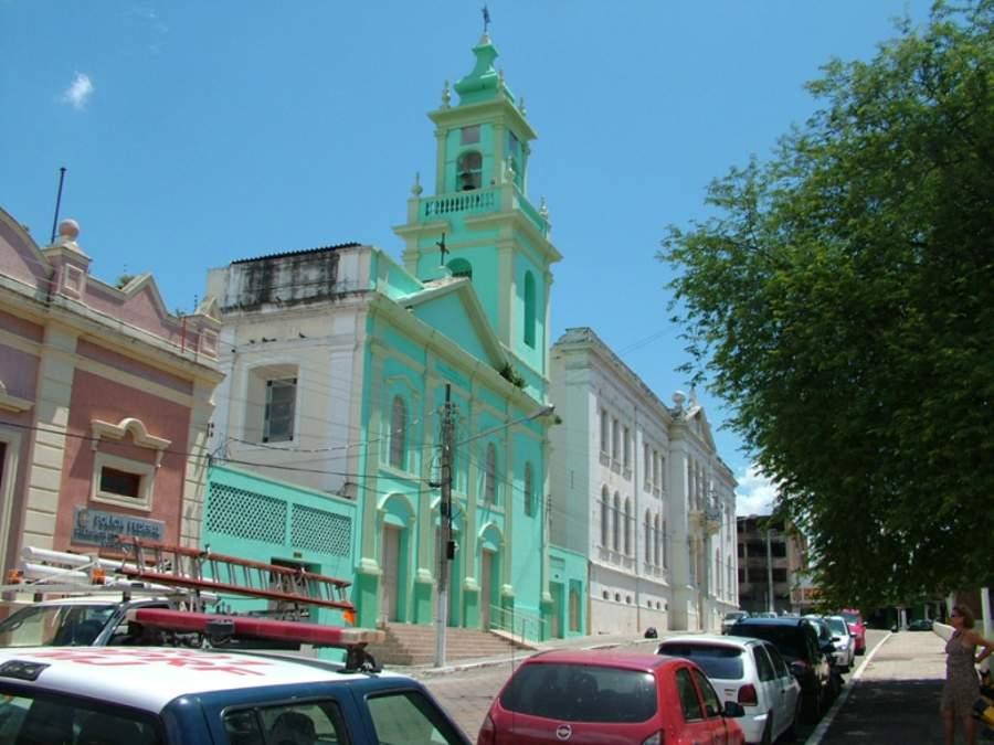 Iglesia de Nuestra Señora de la Candelaria en Corumbá