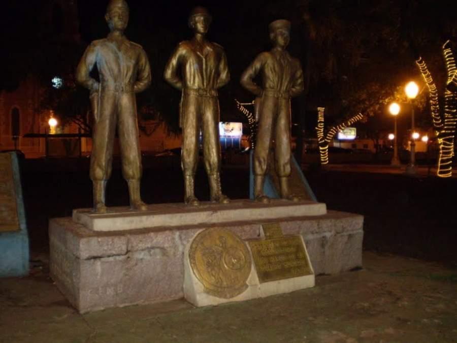 Monumento en la ciudad de Corumbá
