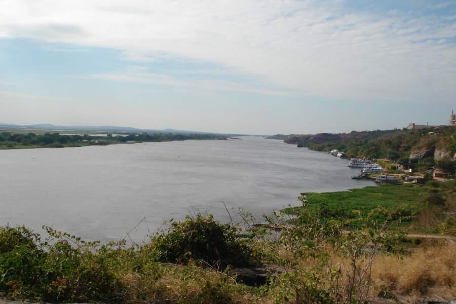 Disfruta de la hermosa vista del río Paraguay