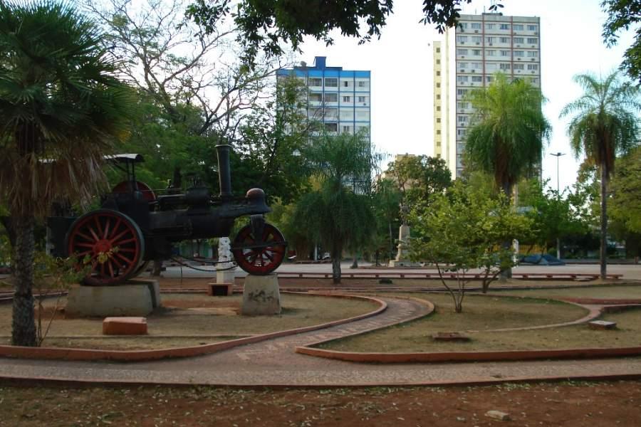 Centro de la ciudad de Corumbá