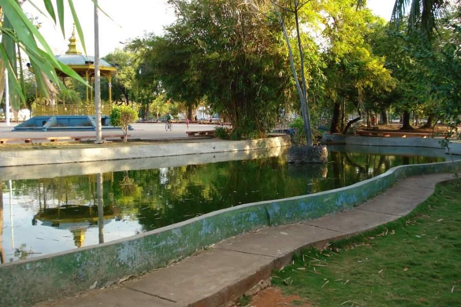 Jardín de Independencia en Corumbá