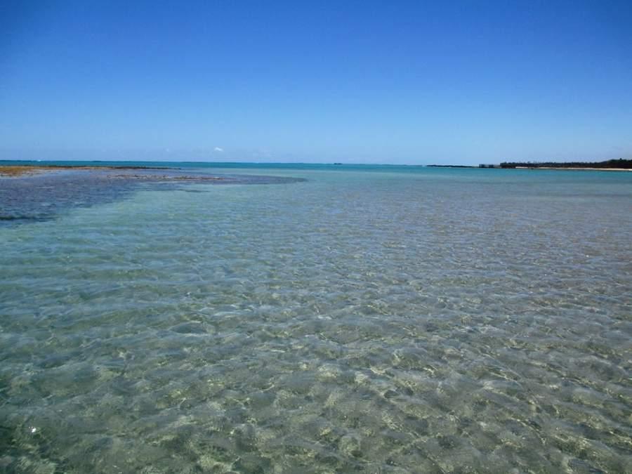 En las playas de São Miguel dos Milagres se forman albercas naturales