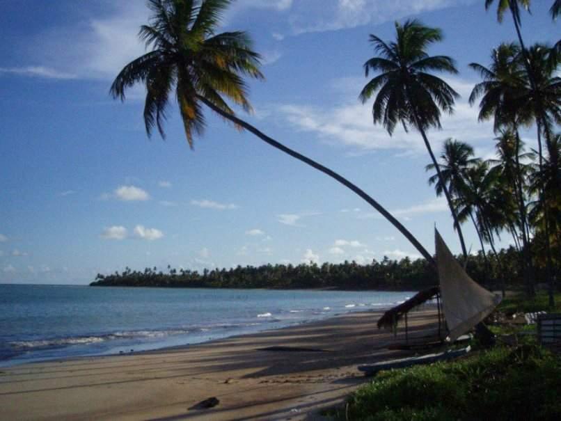 Playa en São Miguel dos Milagres