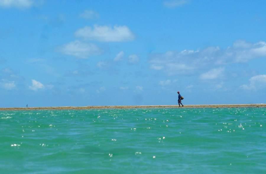 Playa de Patacho cerca de São Miguel dos Milagres
