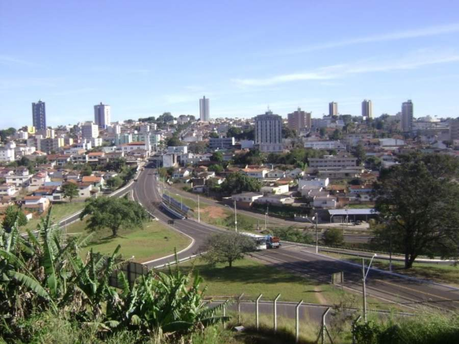 Vista panorámica de la ciudad de Araxá