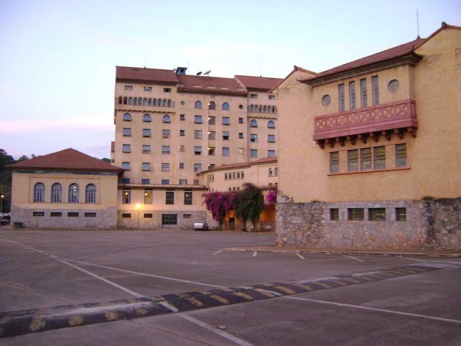 Exterior del Grand Hotel de Araxá