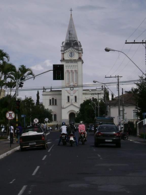 Iglesia de Santo Domingo en Araxá