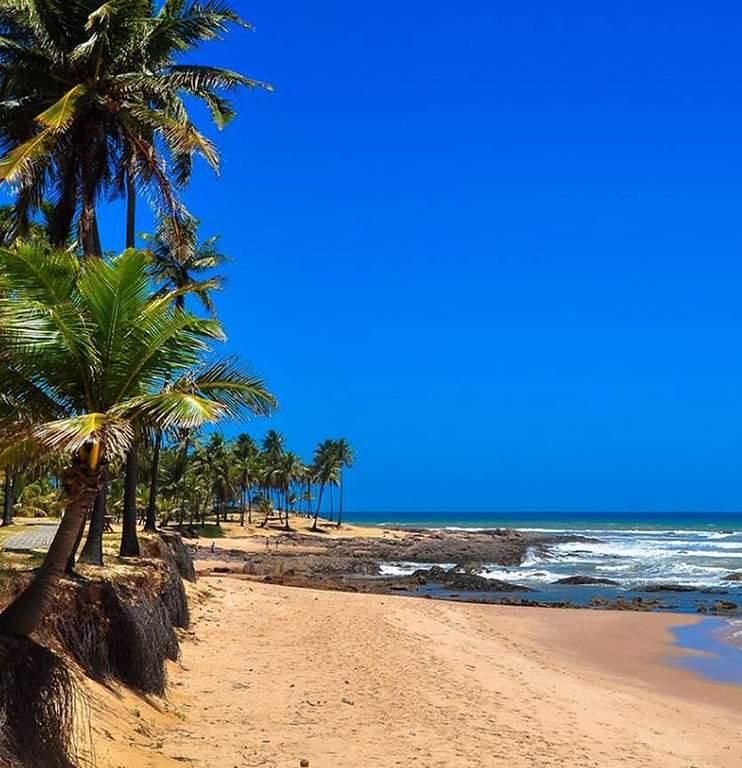 Una playa en Costa do Sauípe