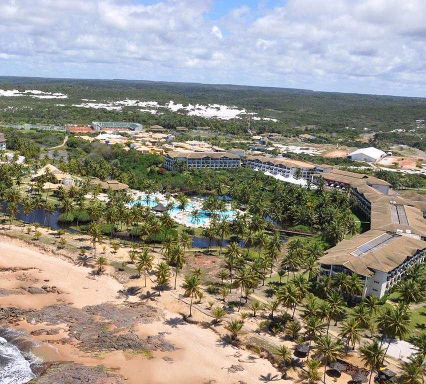 Vista aérea de Costa do Sauípe