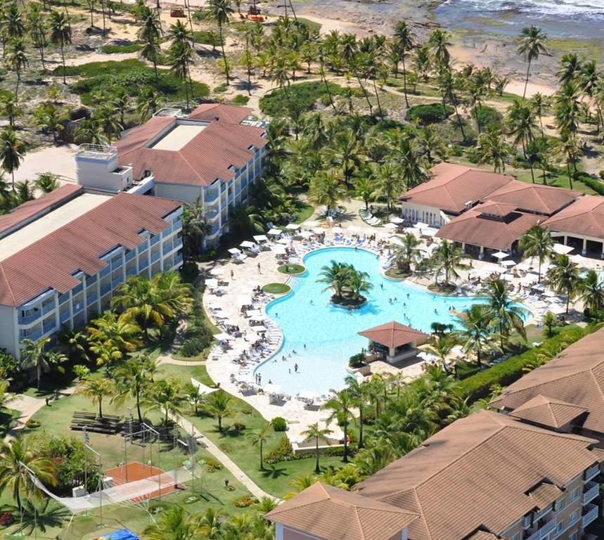Un hotel en Costa do Sauípe