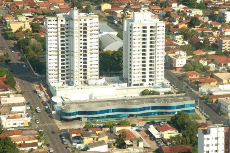 Vista del centro de negocios de Rondonópolis