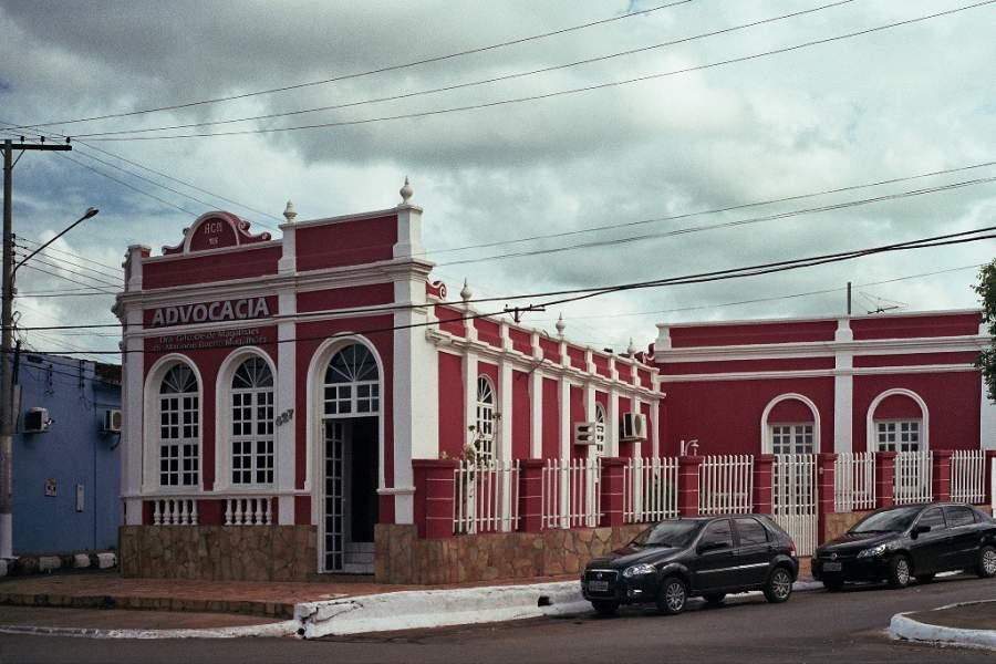 Edificio en la localidad de Poconé