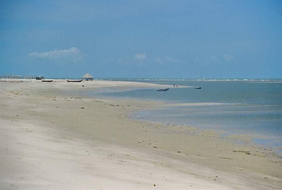 Playa a orillas del río Amazonas en Macapá