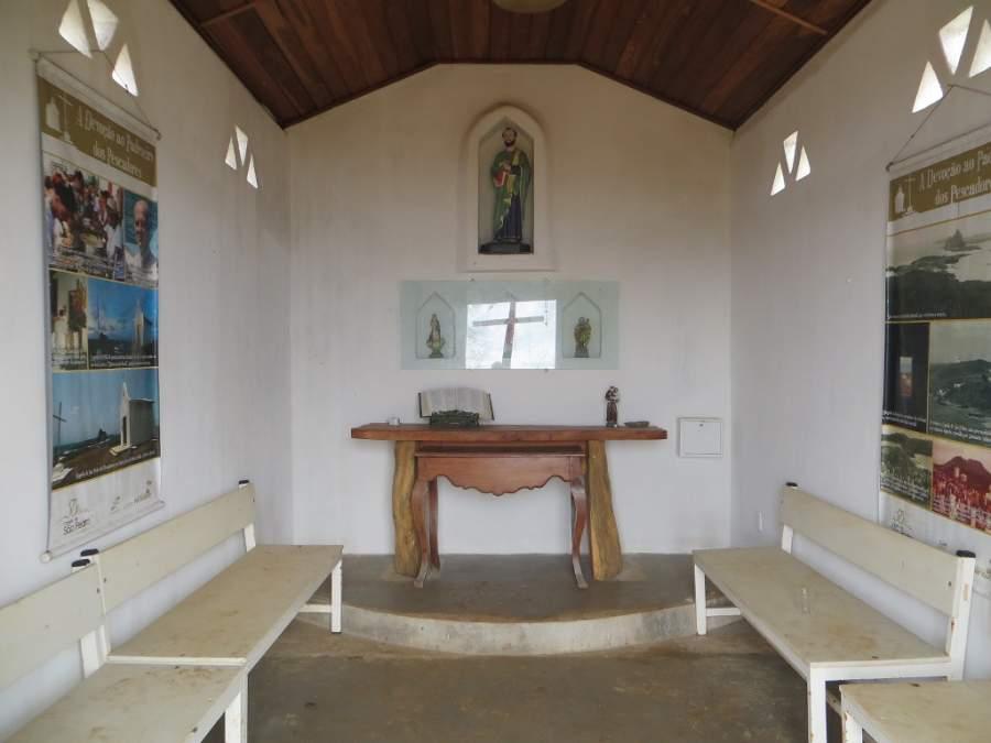 Interior de la Capilla de São Pedro dos Pescadores