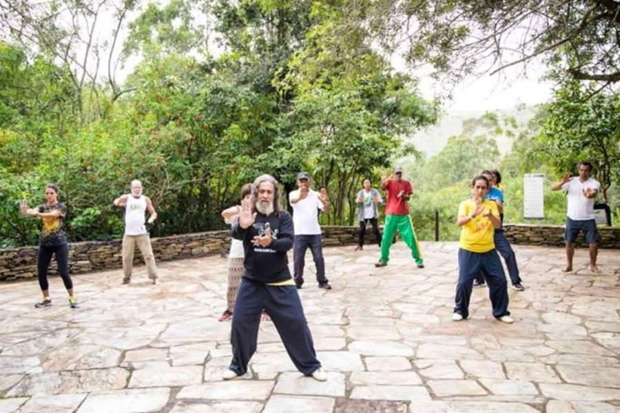 Actividades recreativas en el Parque Vale Dos Contos