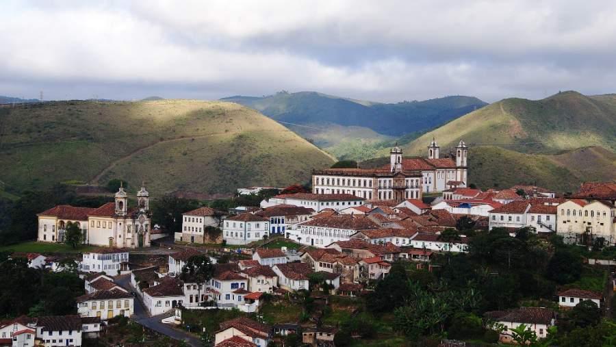 Ouro Preto fue la primera ciudad brasileña declarada Patrimonio de la Humanidad por la Unesco