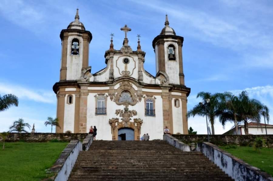 Ouro Preto cuenta con importantes edificaciones eclesiásticas coloniales