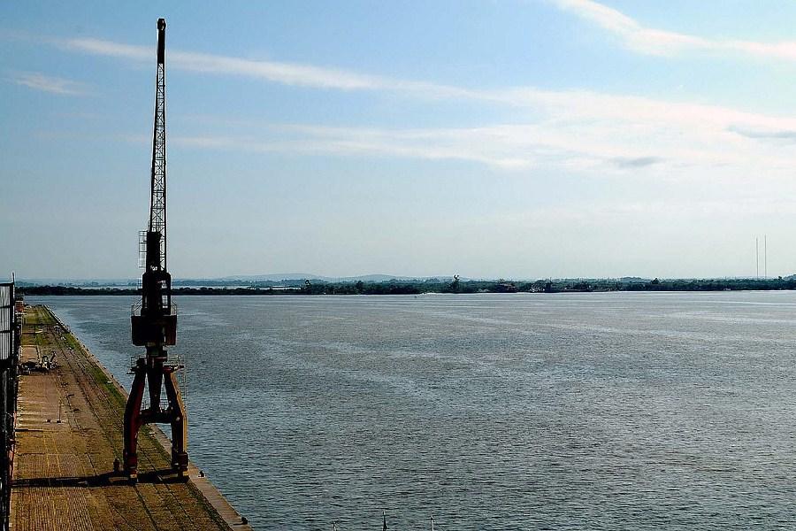 Vista panorámica desde el puerto