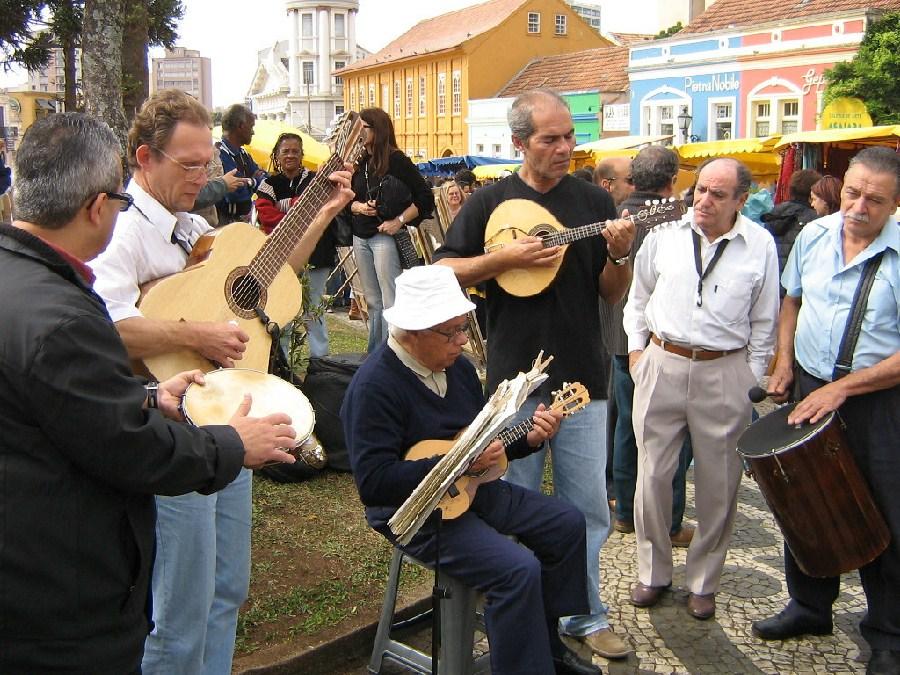 Feria en Curitiba