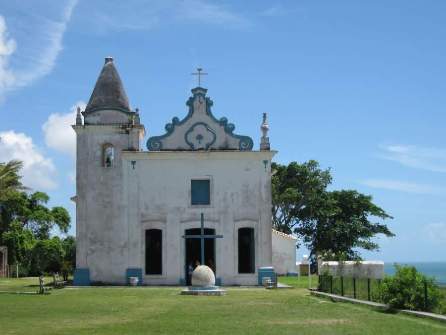 Iglesia en Santa Cruz Cabrália