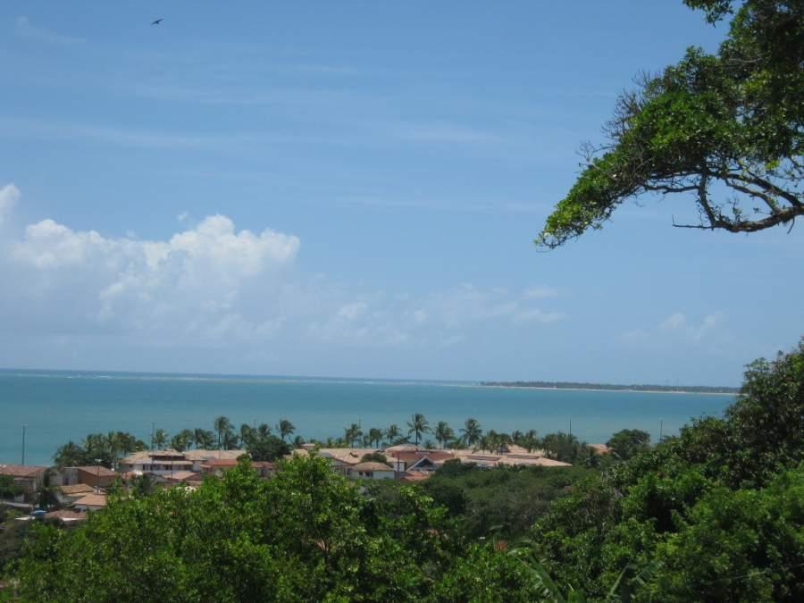Hermoso paisaje que ofrece Santa Cruz Cabrália
