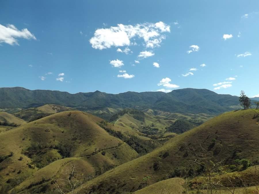 Sierra de Mantiqueira cerca de São José dos Campos