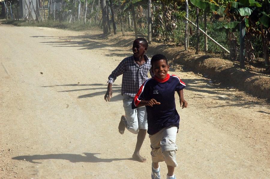 Niños en Punta Cana