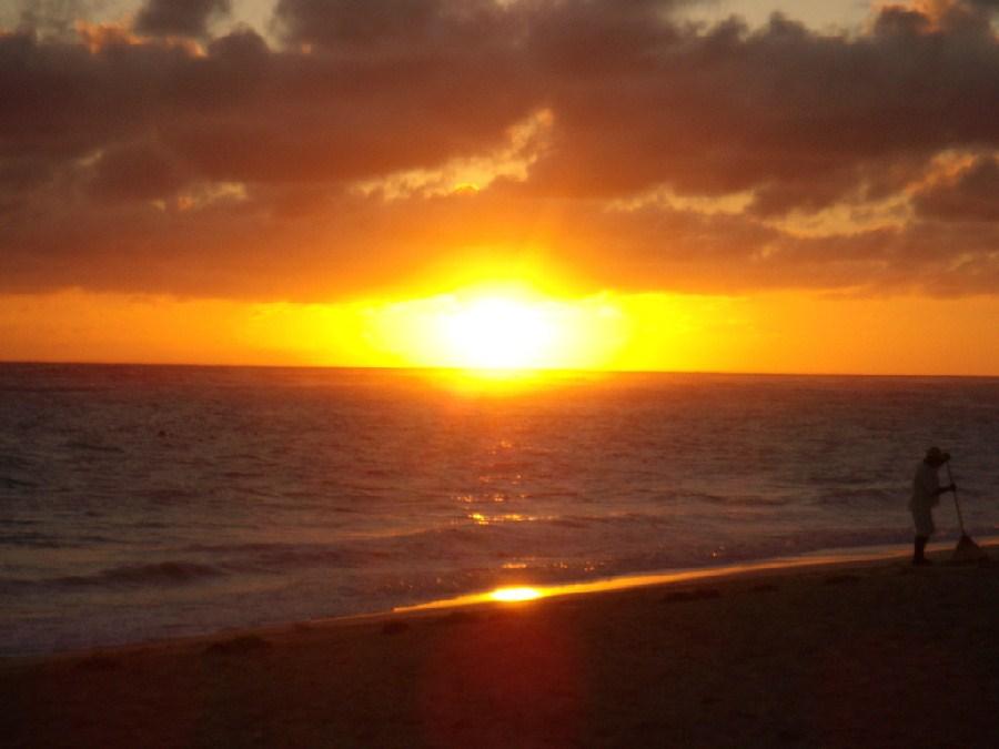 Playa caribeña en Punta Cana