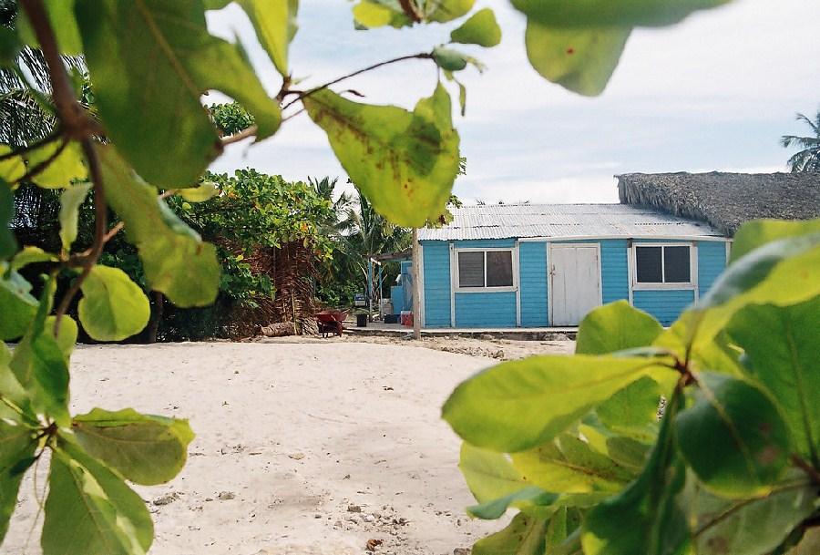 Casa típica de Punta Cana