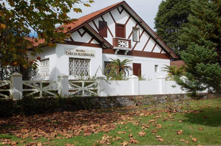 Vista exterior del Museo Casa da Xilogravura