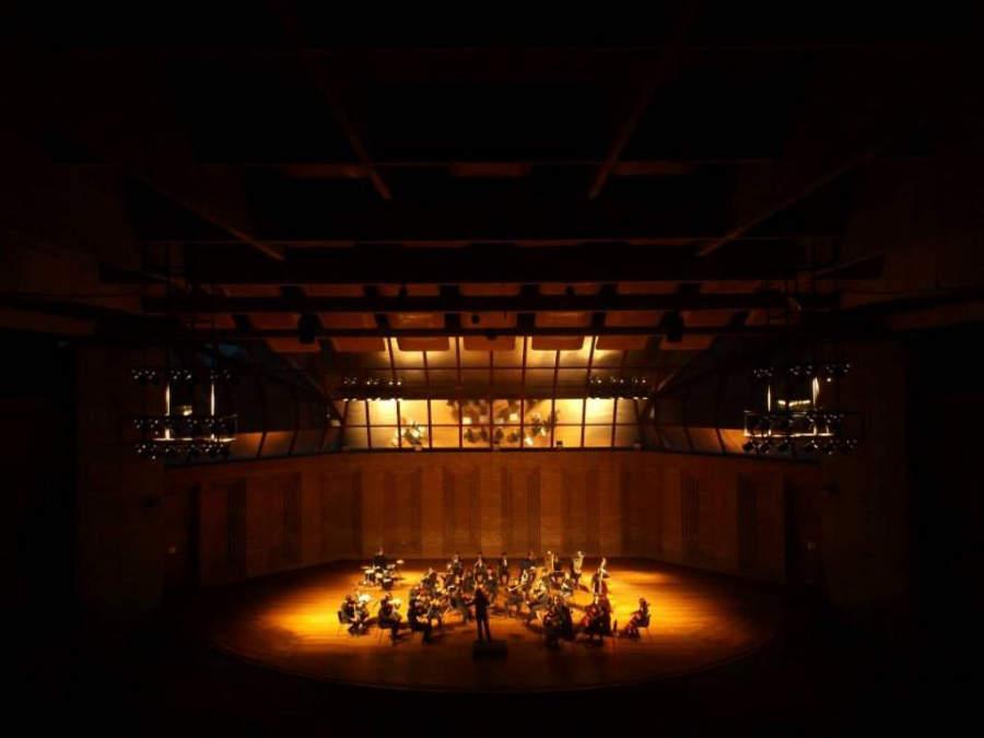 Auditorio Claudio Santoro en Campos do Jordão