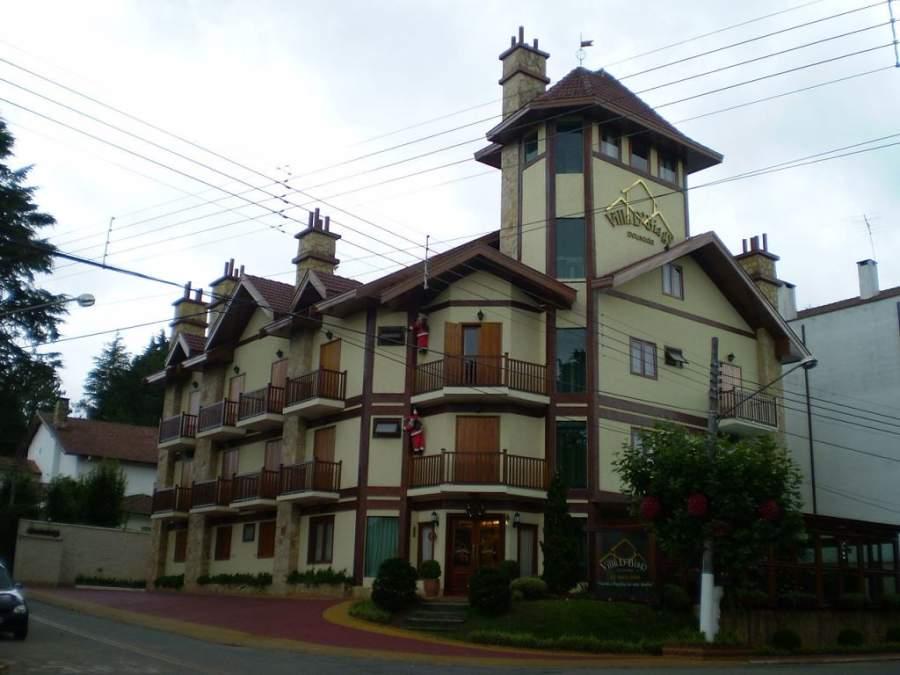 Vila Capivari es un barrio turístico en Campos do Jordão