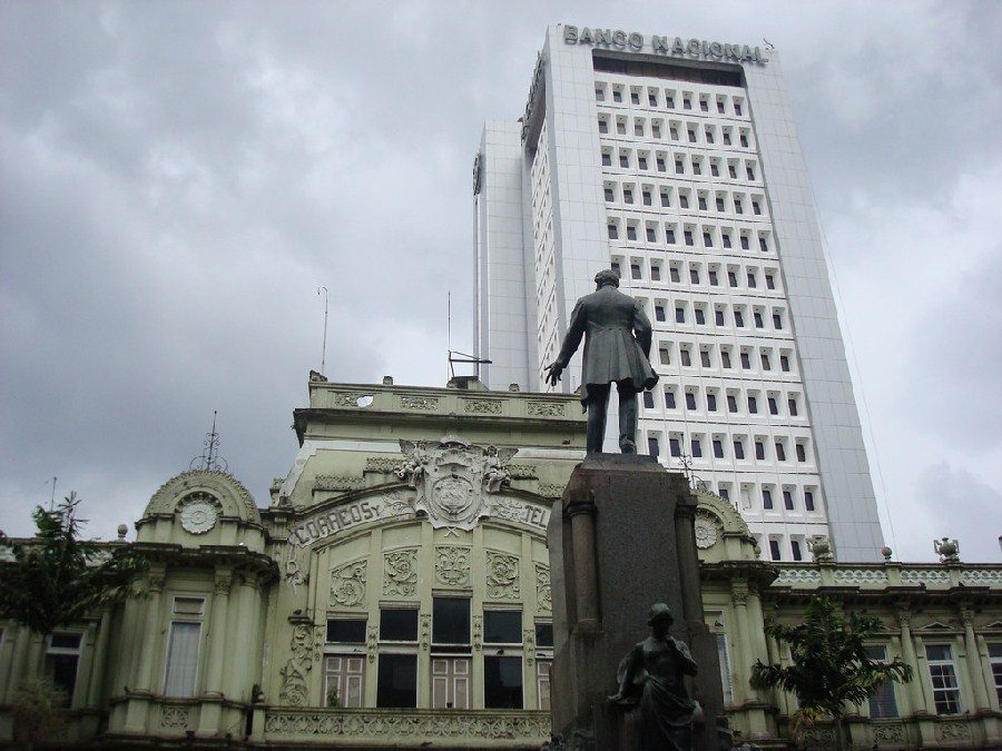 Edificio postal y Banco Nacional de Costa Rica