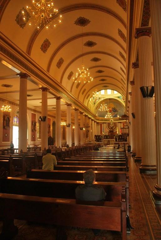 Interior de la catedral de San José