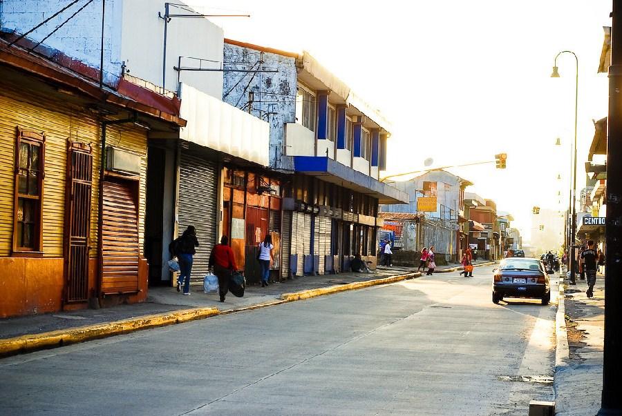 Calles de la ciudad de San José