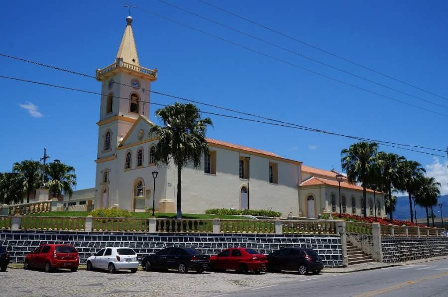Iglesia Matriz de Nuestra Señora del Puerto construida en el siglo XIX