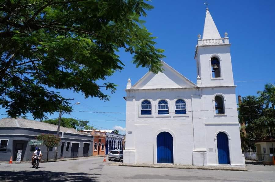 Iglesia de São Benedito de estilo colonial
