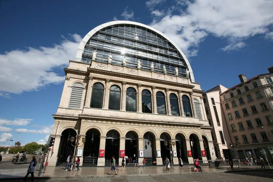 Exterior de la Ópera de Lyon