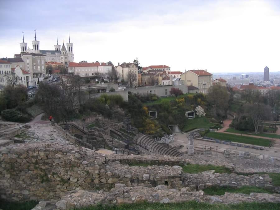 Vista panorámica de la ciudad de Lyon