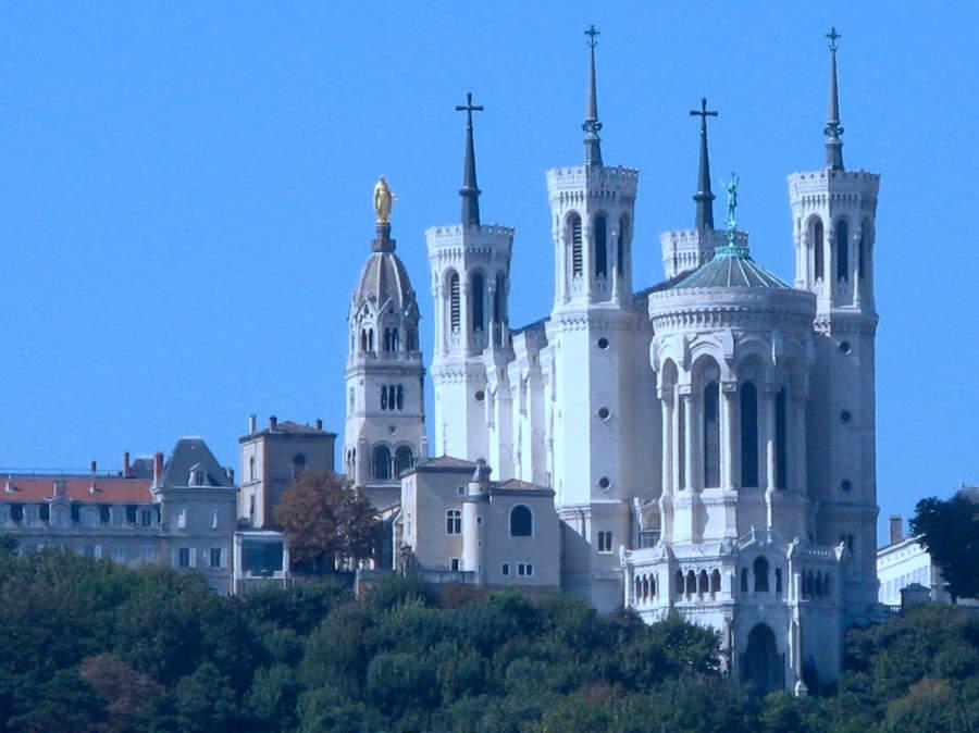 Basílica Notre-Dame de Fourvière en Lyon