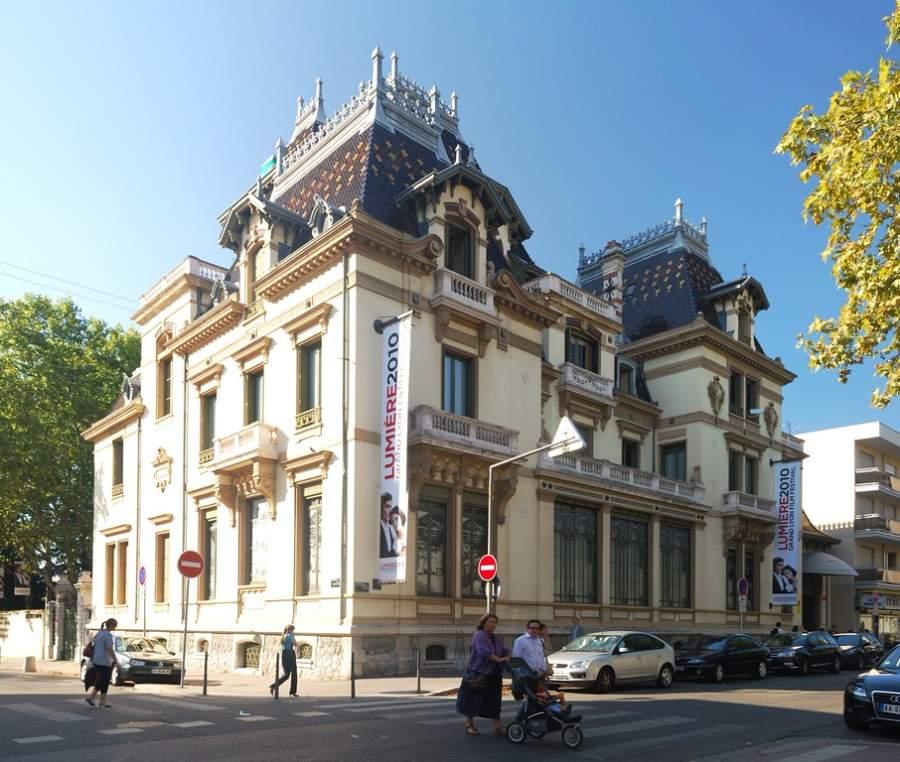 Instituto y Museo Lumiere en la ciudad de Lyon