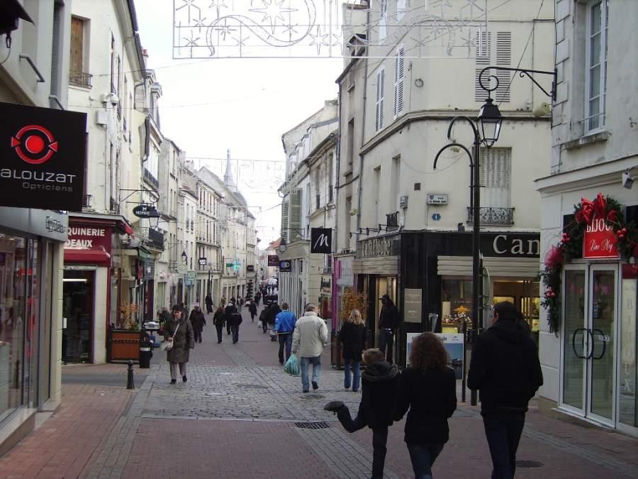 Calle del General Leclerc en Meaux