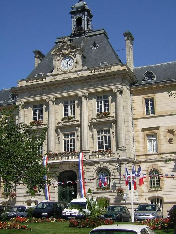 Edificio del Ayuntamiento de Meaux