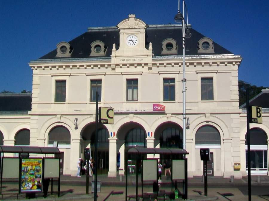 Estación de tren en Meaux