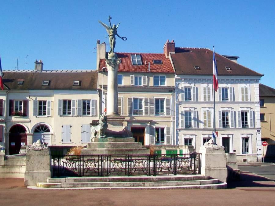 Monumento a la guerra franco-prusiana en Meaux