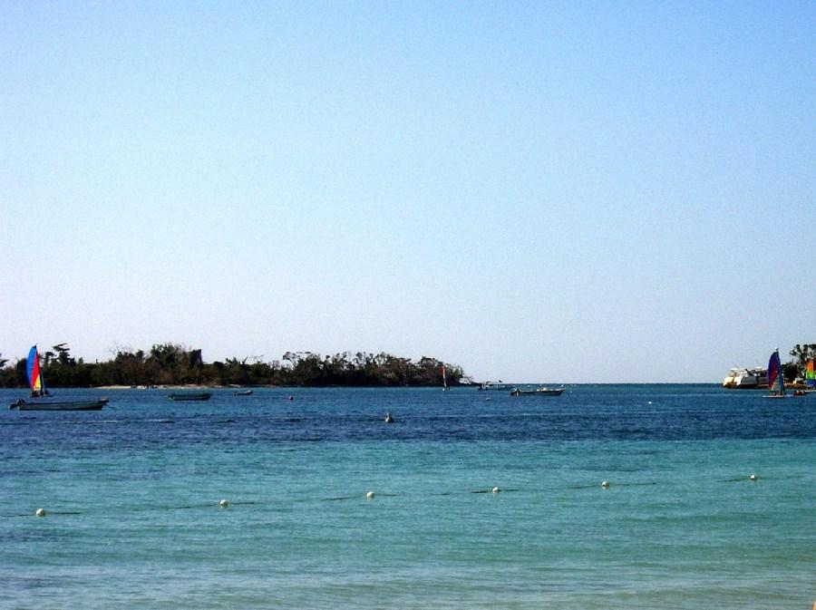 Vista al mar de Negril