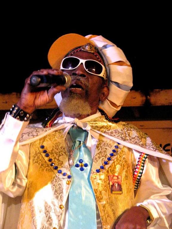 Cantante de reggae en Negril